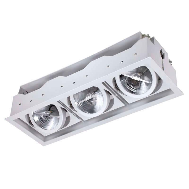 Housing pour downlight led, KARDAN ELAFON, 3 spots